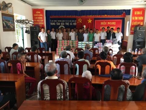 Hoạt động Thiện nguyện tại Trung tâm Bảo trợ xã hội Đăk Lăk