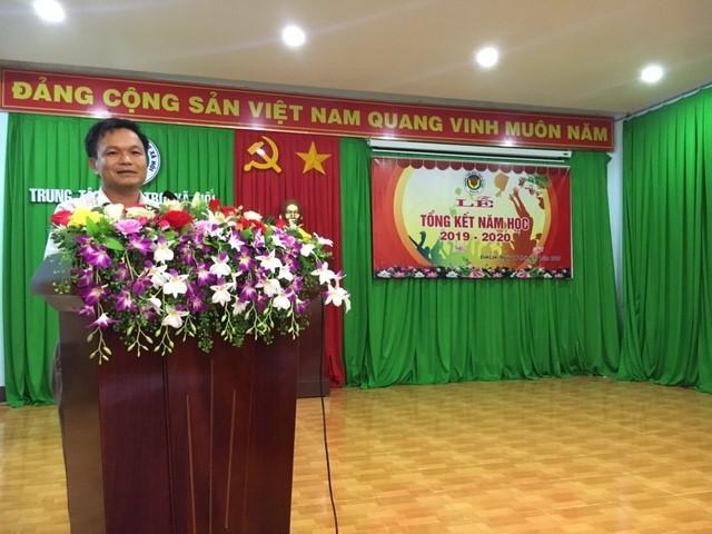Trung tâm Bảo trợ xã hội Đắk Lắk tổ chức Lễ tổng kết và khen thưởng năm học 2019 – 2020 cho trẻ em có hoàn cảnh đặc biệt.